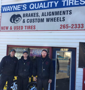 Wayne's Quality Tires our team